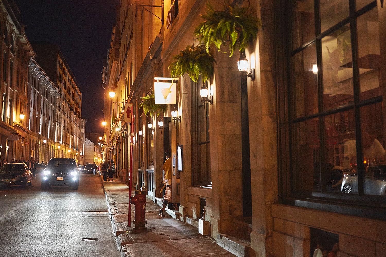 Steakhouse au coeur du Vieux-Montréal