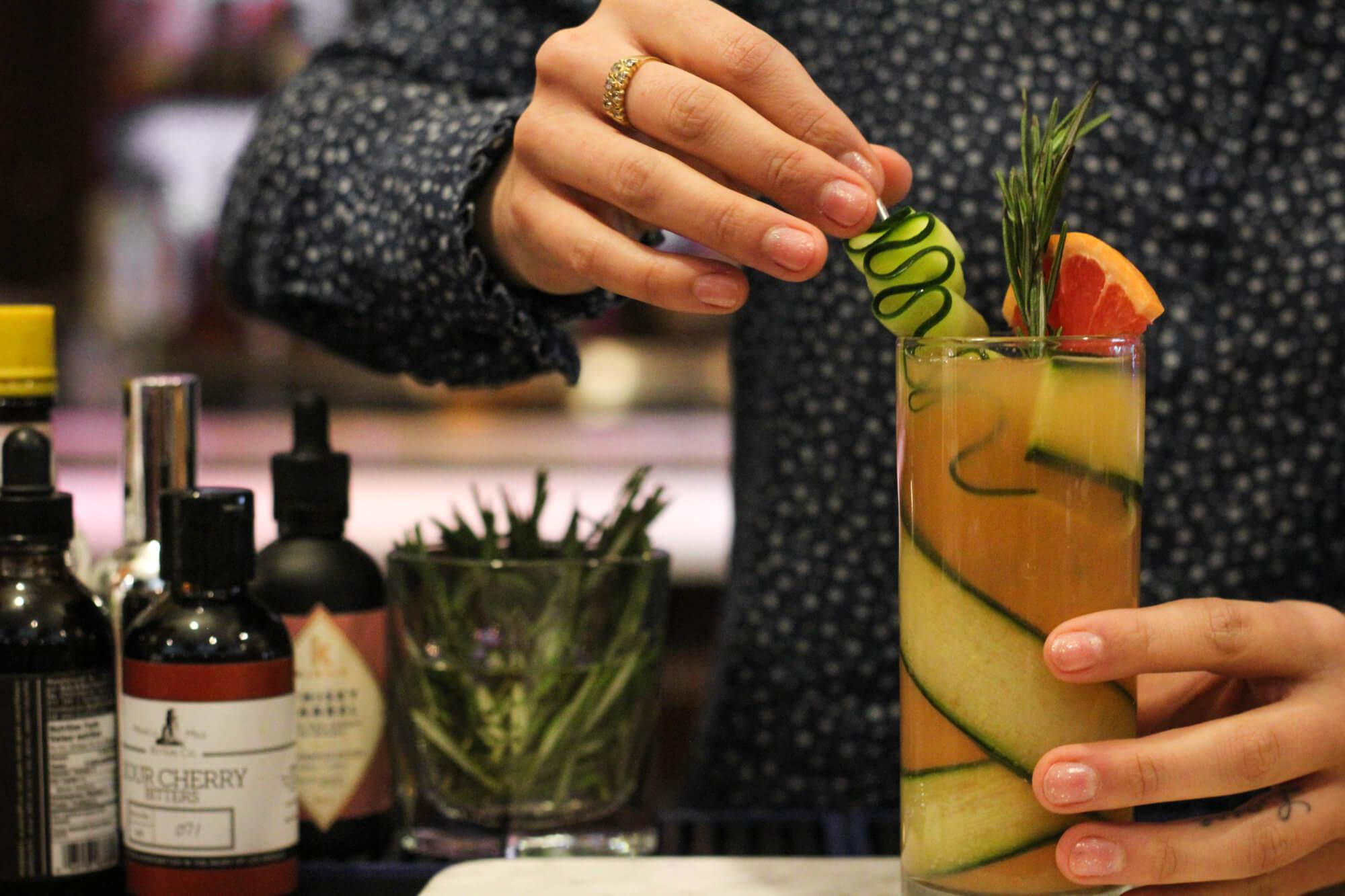 Restaurant et bar à cocktail du Vieux-Montréal