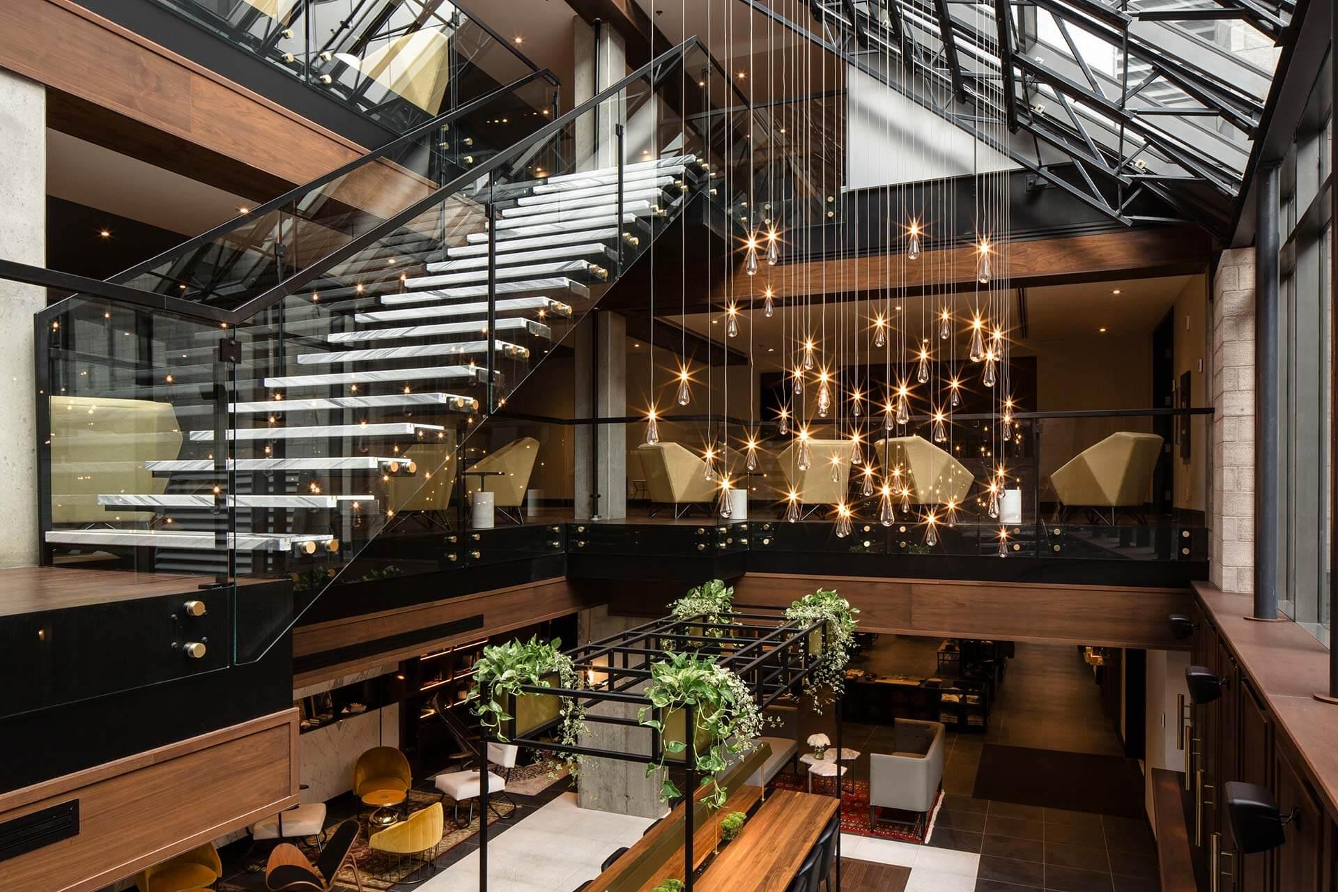 Luxueux hôtel au coeur du Vieux-Montréal